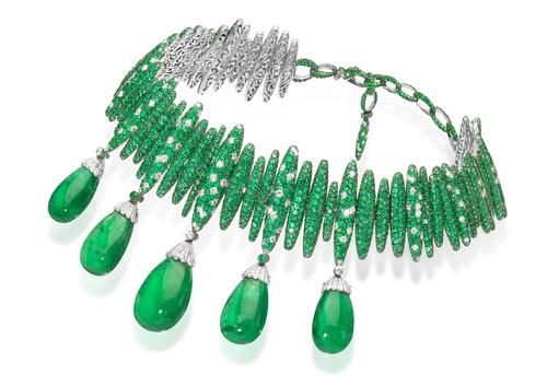 de Grisogono - il collier indossato da Bianca Balti