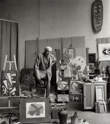Ida Kar, Georges Braque, 1960 © National Portrait Gallery, London
