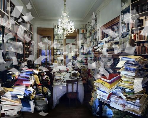 """RAFFAELA MARINIELLO  """"La stanza del filosofo"""", 2011, courtesy dell'artista e Studio Trisorio, Napoli"""