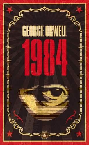 Shepard Fairey (Obey), copertina 1984 di Orwell